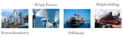 Wind Power Offshore Shipbuilding Petrochemistry